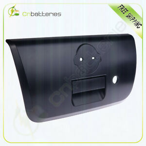 Tail Gate Back Handle W Bezel Keyhole Textured Black For 01 04 Nissan Frontier