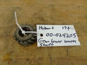 Hobart 60 80 Qt H600 L800 Mixer 00 024205 Gear Lower Worm Shaft
