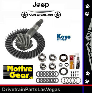 Jeep Wrangler Tj Dana 35 Ring Pinion Gear Set 3 73 Ratio Master Kit Motive
