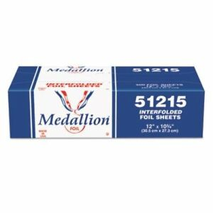 6 Boxes Hfa Handi foil 51215 Medallion Interfolded Foil Sheets 12 X 10 3 4