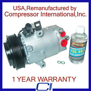 2011 2013 Elantra 1 8l Reman A C Compressor Without A T C