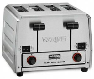Waring Wct850 Toaster Commercial Heavy Duty 208v 2800w