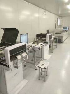A Continuous Smt Line Neoden4 With Vision reflow Oven solder Printer conveyor j
