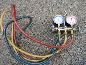 Yellow Jacket R 22 R 410a Test And Charging Manifold