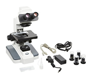 40x 100x Digital Laboratory Microscope By Motic dmb1 223asc b W 2mp Camera