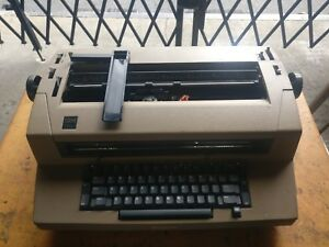 Vintage All Original Ibm Selectric Iii Typewriter With Ribbons Case Cover