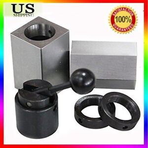 Accusizetools Collet Block Chucks For 5c Round Hex Or Square Collets New May