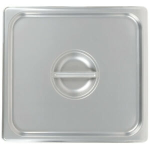 2 3 Size Stainless Steel Solid Steam Table Hotel Pan Lid Cover