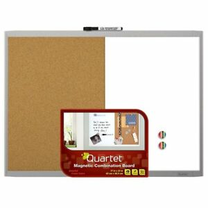 Set Of 3 Quartet Magnetic Dry Erase Board Cork Board 17 X 23