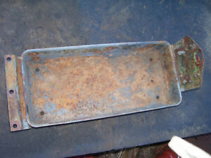 Vintage Oliver Super 55 Tractor Tool Box Lh Step Support