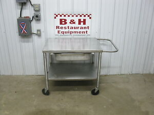32 X 24 Heavy Duty Stainless Steel Equipment Table Mixer Slicer Stand