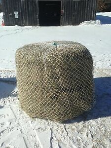 Horse Hay Round Bale Net Slow Feeder 4 x5 eliminate Waste Usa Made Save