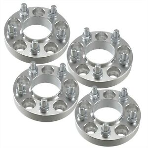 Set Of 4 25mm Hubcentric Wheel Spacers 5x4 5 Wheel Centric For Honda