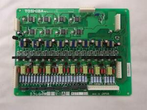 Toshiba Bsls1a 8 Port Analog Station Daughter Card mounts On Blsu1
