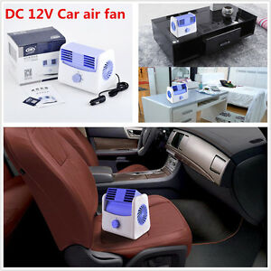 12v Car Cooling Air Fan Truck Boat 2 Speed Adjustable Silent Blower Cage Design