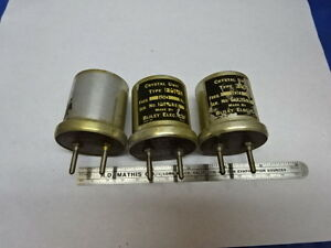 Lot Vintage Bliley Electric Quartz Crystal Fm6 5 Frequency Control As Is 84 57