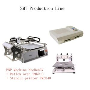 Neoden3v Smt Production Line Pcb Assembly Machines Reflow Oven T962c j