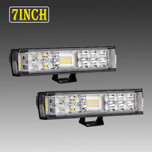 4 X 4inch 720w Led Work Light Bar Spot Cube Pods Offroad Lamp Fog Suv Atv