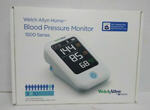 Welch Allyn Home 1500 Series Blood Pressure Monitor With Simple Sma 2day Ship