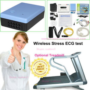 Contecmed Contec8000s Wireless Stress Ecg Ekg Pc Systems Free Analysis Software