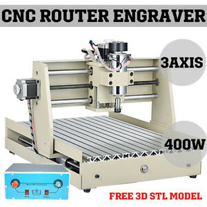 3040t Cnc Router Engraver Miniature Engraving Milling Machine Kit Desktop 3040