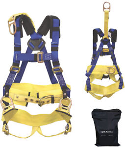 Elk River 76475 Oil Rigger Harness W 12 D ring Extension 2xl