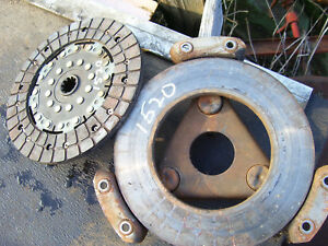 Vintage Ford 1520 D Tractor Clutch Disc Pressure Plate 8 1 2