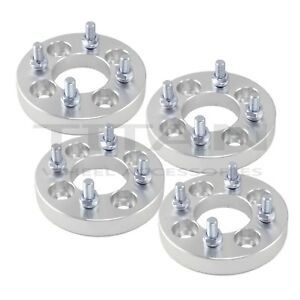 4pc 25mm 4x100 To 4x4 5 Wheel Adapters Spacers 4x100 To 4x114 3 4 Lug Spacers