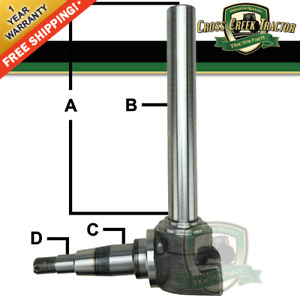 Ar103473 New Spindle Rh lh For John Deere 820 830 1020 1520 1530 1641f