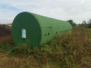 20 000 Gallon Bulk Fuel Storage Tank Diesel gas water septic Good Cond