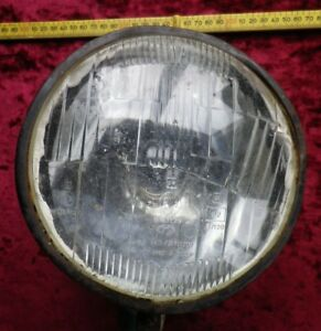 Vintage Ussr Soviet Tractor Large Front Lamp Light