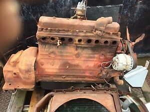 International Vintage Engine Might Be From A Late 1940 S Or Early 1950s