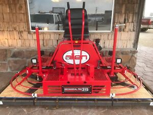 Allen Engineering 2018 Mp315 Manual Steer8 Riding Concrete Power Trowel