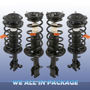 For 93 02 Toyota Corolla Front Rear Complete Shocks Absorber Strut W Spring