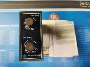 Da1914a301 eagle Signal Miniflex On off Repeat Cycle Timer