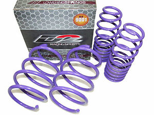 D2 Racing Lowering Springs For 16 19 Honda Civic
