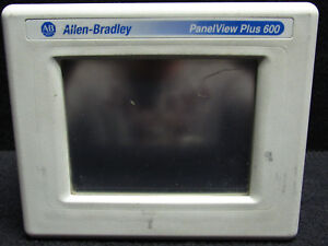 Allen bradley Panel View Plus 600 2711p t6c20d Ser A Rev B