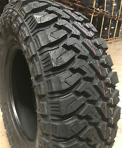 2 New 33x12 50r18 Centennial Dirt Commander M T Mud Tires Mt 33 12 50 18 R18