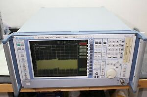 Rohde Schwarz Fsig 13 Spectrum Analyzer 9 Khz 13 Ghz Calibrated Opt 4 7 15 70