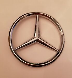 Mercedes Benz Grille Emblem Star Badge 6 5 Diameter R129 Sl Class Usa Seller