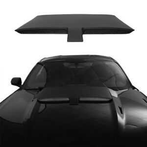 Paintable Abs Plastic Hood Scoop Ram Air Engine Trim For 15 17 Ford Mustang