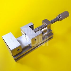Precision Stainless Steel Edm Vise Toolmakers Vise 95 Mm 3 3 4 Jaw Opening