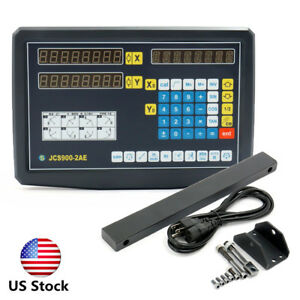 Us 2 axis Grating Milling Machine Electronic Scale Lathe Grating Digital Machine
