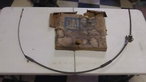 Nos Gm 1957 59 Chevy Gmc Truck Series 3g 4wd Rear Brake Cable 3744893 Napco