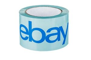 3 X 75 Yards Blue Tape Official Ebay Branded Bopp Packaging Tape Supplies