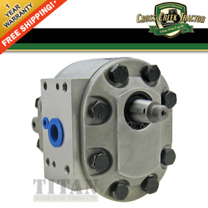 D5nn600c New Hydraulic Pump For Ford Tractors 8000 8600 8700 9000 9600 9700