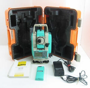 Nikon Total Station Npl 332 Reflectorless For Surveying 1 Month Warranty