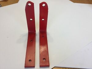 Original Ford Tractor Rear Step Plate Brackets For The 8n 1948 1952