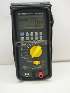 Yokogawa Ca12e Handy Cal Temperature Calibrator