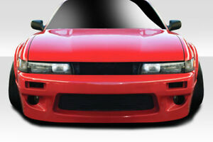 For 89 94 Nissan Silvia S13 Duraflex Rbs V1 Front Bumper 1 Piece 113864